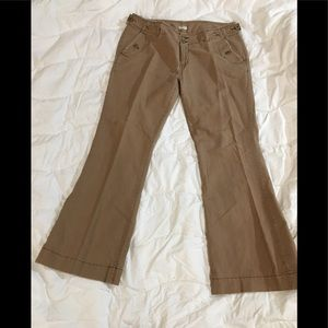 Maurice's Beige Flare Jeans Size 13/14